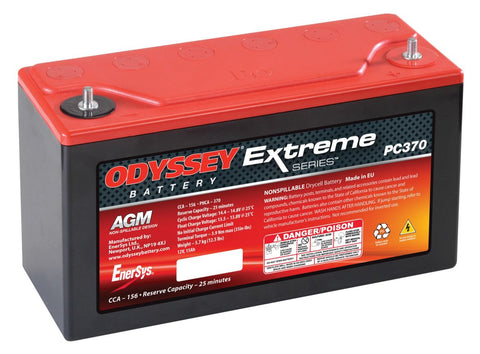 Odyssey PC370 Extreme Series AGM Battery