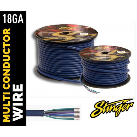 STINGER 18 GAUGE 9 CORE SPEED WIRE 6.1m blister pack