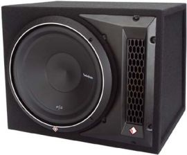 "Rockford Fosgate Punch Series - P2-1X10 Single P2 10"" Loaded Enclosure"