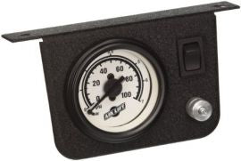 "Air Lift 26156 - Single Needle Pressure Gauge w/2"" Lighted Panel - 100PSI"