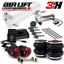 "Air Lift BMW 3 Series E46 Digital 3H 1/4"" Performance Air Kit (Without Shocks)"