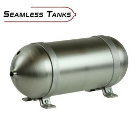"Seamless Tanks Aluminium 2.43 Gallon 28"" Tank"