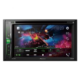 "Pioneer AVH-A210BT - 6.2"" Screen CD DVD MP3 Bluetooth iPhone Stereo"