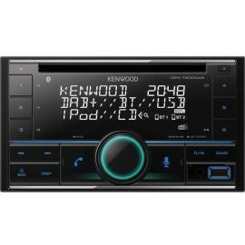 Kenwood DPX7200DAB - CD MP3 USB Stereo Bluetooth DAB Alexa iPhone Ready