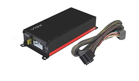VIBE POWERBOX65.4M-V7: Powerbox 520 Watt Micro 4 Channel plug and play Amplifier