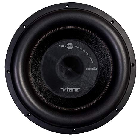 "BRAND NEW!! VIBE AUDIO BLACK AIR 12"" D2 VOICE COIL 750WRMS"