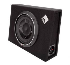 "Rockford Fosgate P3S-1X10 - Single P3 10"" Shallow Loaded Enclosure 600 Watts"