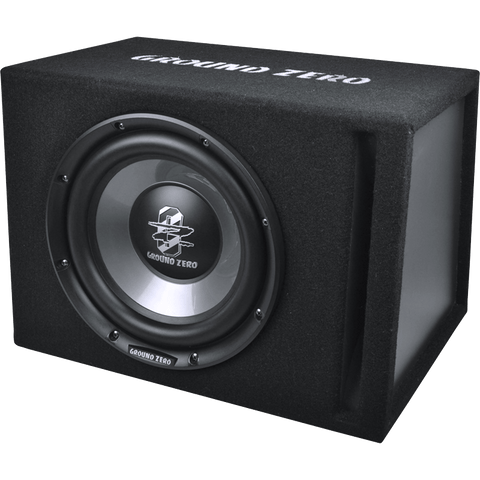 GZIB 250XBR-ACT 25 cm / 10″ vented subwoofer loaded active enclosure
