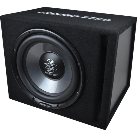 GZIB 300XBR-ACT 30 cm / 12″ vented subwoofer loaded active enclosure