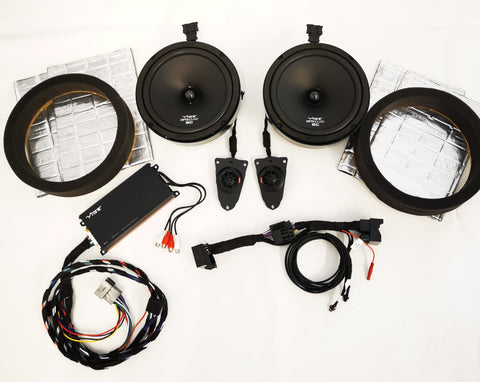 "VW Transporter T5-5.1 100% PLUG N PLAY VIBE AUDIO 8"" SPEAKER KIT"