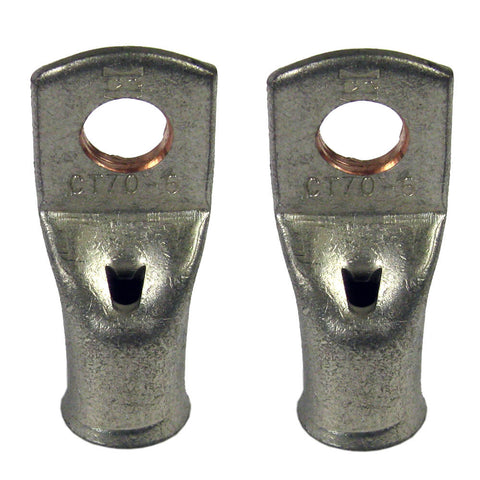 70mm tinned copper lug 8mm fixing hole