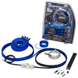 Stinger 6000 series 8 gauge power and signal wiring kit (SK6681)