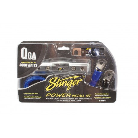 Stinger 1/0 gauge install kit only  (SK101)