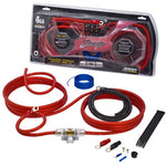Stinger 4000 series 4 gauge power and signal wiring kit (SK4461)