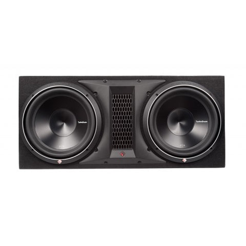 "Rockford Fosgate Punch Series - P3-2X12 Dual P3 12"" Loaded Enclosure"