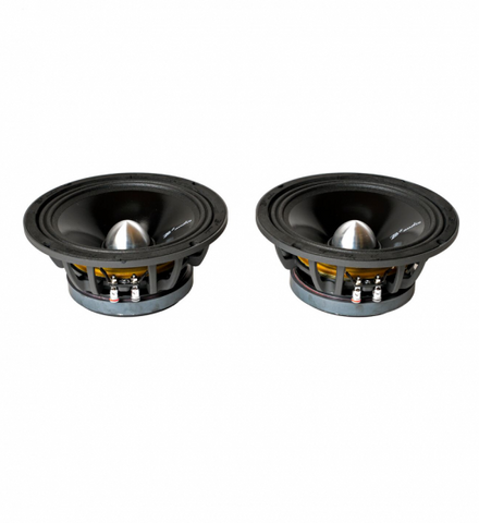 "B2 RAGE8P 8"" Pro Audio (Pair) Sun coated cone"