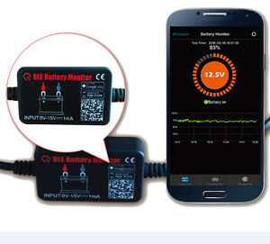 Quicklynks 4.0 Bluetooth Battery Voltage Monitor II BM2 BLE 12v