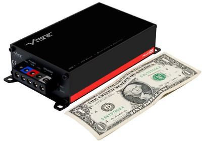 VIBE POWERBOX400.1M-V7: Powerbox 800 Watt Micro Bass Amplifier