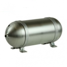 "Seamless Tanks Aluminium 0.243 Gallon 12"" Tank"