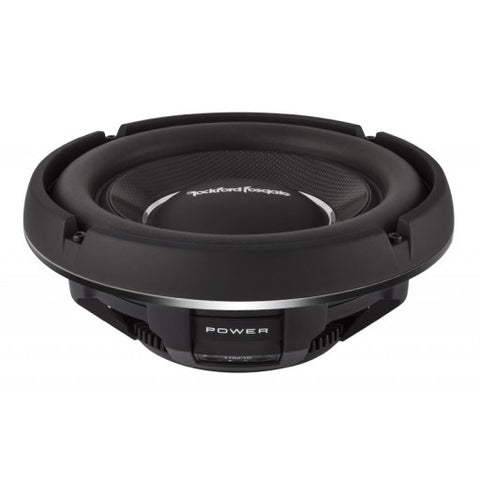 "Rockford Fosgate T1S2-10 - 10"" Slim Power T1 Single 2-Ohm Subwoofer"