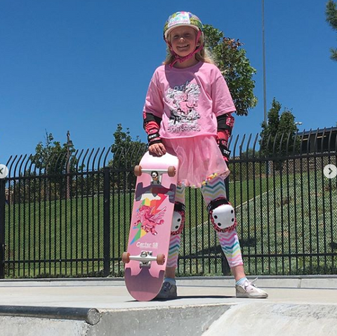 Reagan Chandler - Kid Skateboarder from Encinitas, CA