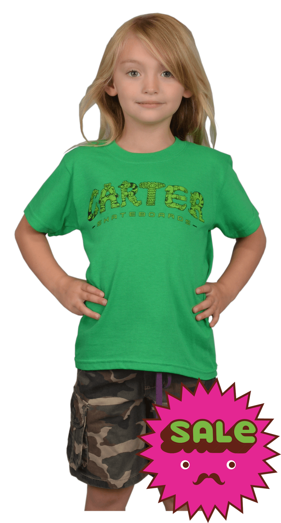 Carter's Characters Kids Tee, Kid's Tees - Carter SB