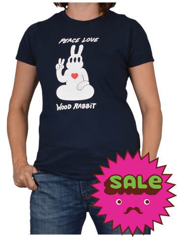 Peace Rabbit Women's Tee, Women's Tees - Carter SB