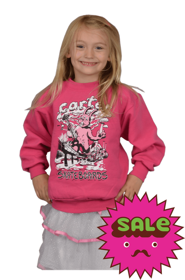 Rabbitzilla Kids Crew Neck Sweatshirt, Kid's Sweatshirts - Carter SB