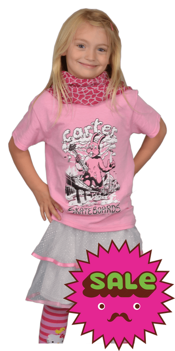 Rabbitzilla Kids Tee, Kid's Tees - Carter SB