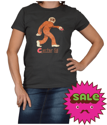 Space Squatch Women's Tee, Women's Tees - Carter SB