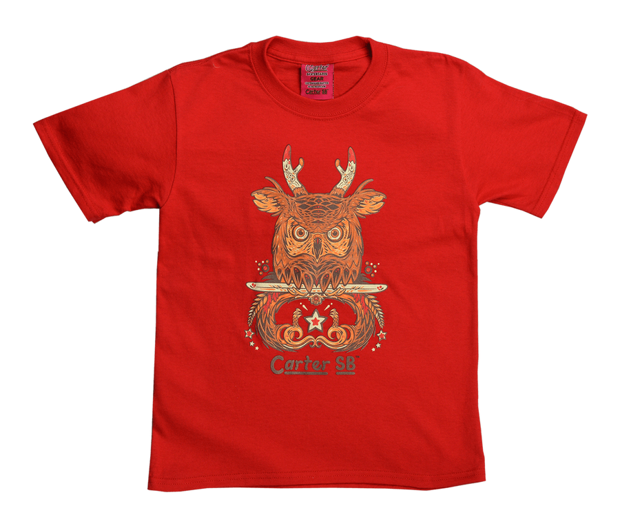 Owl Jack Kids Tee, Kid's Tees - Carter SB