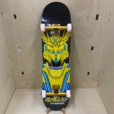 FINESSE GUNDAM RX-0 PHENEX DECK-8.0 BLACK/YELLOW