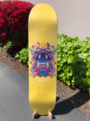 Skateboard Floor Stand for displaying decks