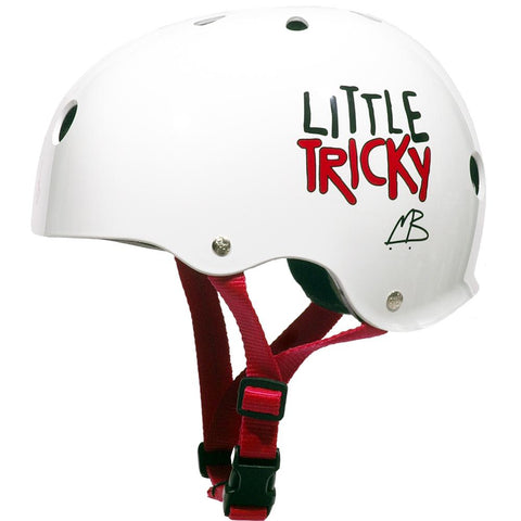 TRIPLE 8 LITTLE TRICKY HELMET PINK RUBBER eps liner