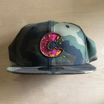 Carter SB Donut Hat - Camo, Solid Back, Adult Hat - Carter SB