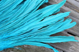 Extra long coque feathers for Tahitian costumes, Many colors