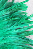 Coque feathers 7-10 inch length, for Tahitian costumes
