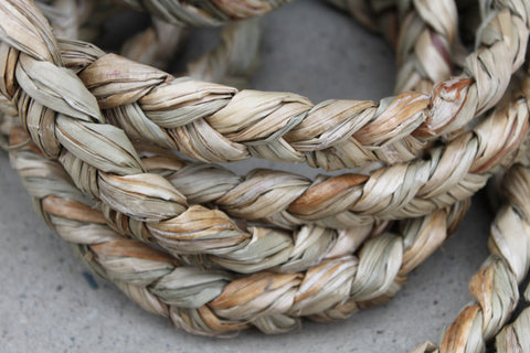Braided seagrass for costumes or crafts