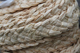 Plaited raffia trim- for Costumes and crafts- full roll