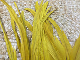 Extra long coque feathers for Tahitian costumes, Many colors-