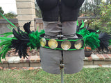 Tahitian costume Tassel hip belt for Tahitian dance costume- hip hei
