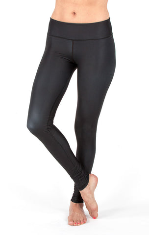 Obsidian Black Leggings