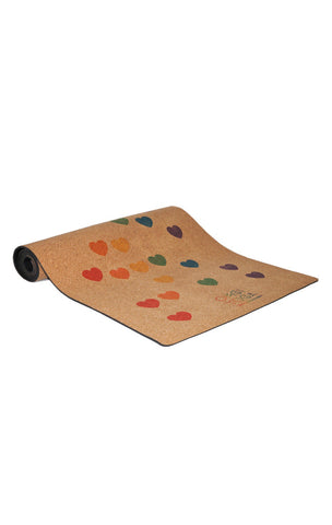 CORK Yoga Mat by OMGI Yoga - OneLove Limited Edition