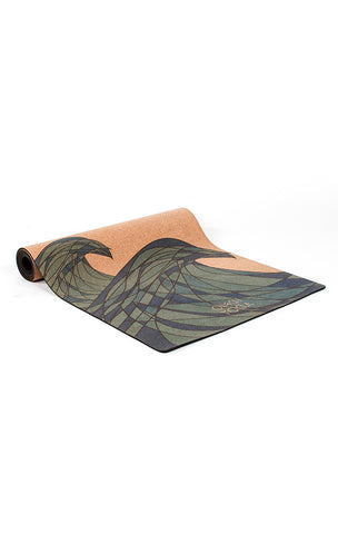 CORK Yoga Mat by OMGI Yoga - Making Waves