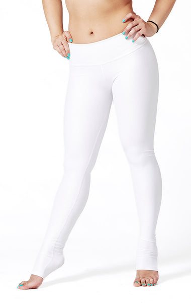 Polar White Leggings