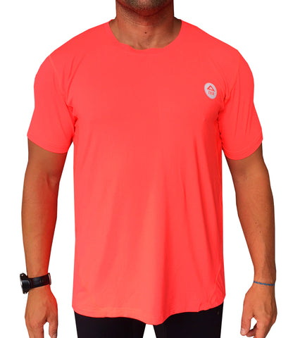 Azur Unisex Downwind Top- Coral