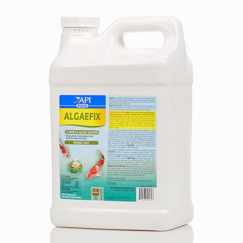 MARS API Pondcare ALGAEFIX Pond Algae Control 64 oz - Treats up to 19,000 Gallons