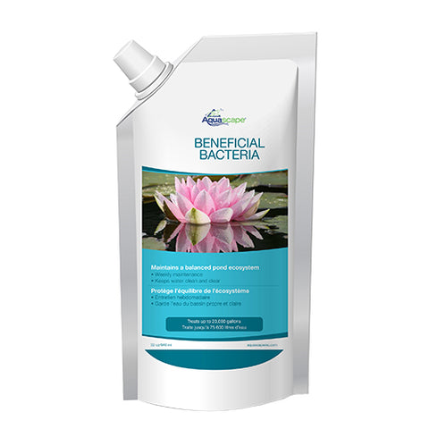 Aquascape 40002 - Benificial Bacteria for Ponds Refill Pouch - 32 oz