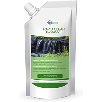 Aquascape 40006 - Rapid Clear Flocculant Refill Pouch 32 oz / 946 ml
