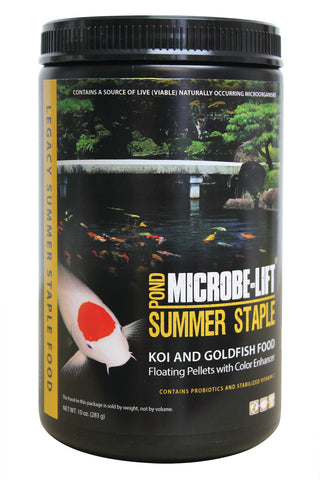 MICROBE-LIFT SUMMER STAPLE KOI AND GOLDFISH FOOD